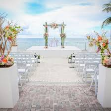 cheap wedding venues in miami resort wedding venues the diplomat resort