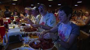 Louisiana how to time travel images People crawfish restaurant louisiana usa hd stock video jpg