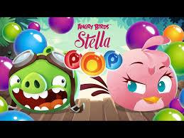 angry birds stella pop rovio u0027s bubble shooter live