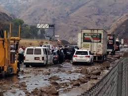 as mudslide from grapevine gets cleaned up experts say be ready