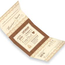 send and seal wedding invitations rustic lace seal and send invitation seal and send wedding