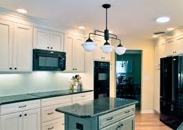 Schoolhouse Lights Kitchen with Schoolhouse Lighting Used In Traditional Kitchen Remodel Blog