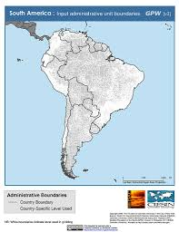 Cuba South America Map by Maps Subnational Administrative Boundaries V3 Sedac