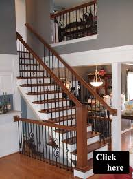 Wooden Banister Spindles Spindle Post 40 Best Railing Spindles And Newel Posts For Stairs