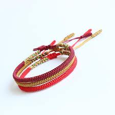 rope bracelet images Handmade knots lucky rope bracelet balance kundalinispirit jpg