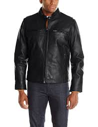 jacket moto marc new york by andrew marc men u0027s lamar leather moto jacket at