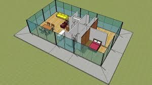 4 sides glass house kit youtube 4 sides glass house kit