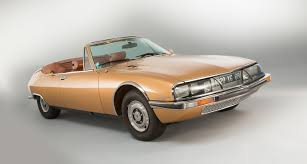 classic citroen citroën sm cabriolet the most beautiful maserati ever classic