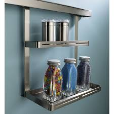 etagere cuisine leroy merlin etagère pour barre de crédence métal l 26 x h 30 cm leroy merlin