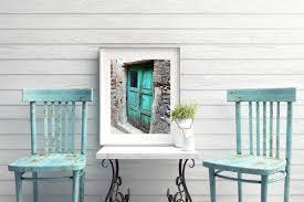 Tuscan Door Photograph Italy Photography by Turquoise Decor Aqua Door Photograph Sicily Italy Photo