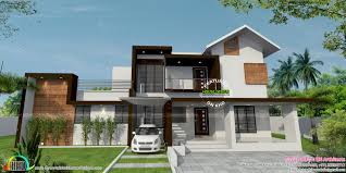floor plan and elevation by bn architects kerala home design and