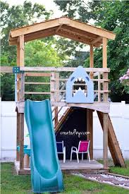 diy outdoor playset a year later created by v