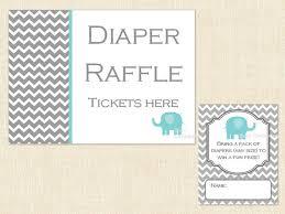 raffle baby shower free printable elephant raffle raffle ticket baby