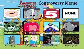 Meme Adventure Time - my adventure time controversy meme by fazbearfaz on deviantart