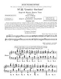 country gardens grainger percy imslp petrucci music library
