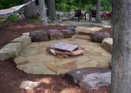 Natural Stone Benches Flagstone Patio Stone Stone Walkway Natural Stone Patio Ideas