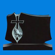 cross with praying modern memorials r g thompson ltd