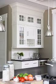 kitchen with khaki walls paint color white kitchen cabinets