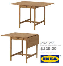 Ikea Drop Leaf Table Ikea Drop Leaf Table Sanblasferry