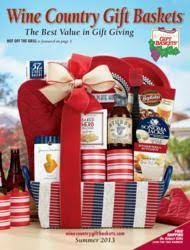 wine country gift baskets celebrates summer with cool new gift baskets