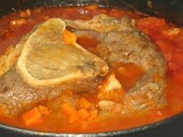 cuisiner du jarret de boeuf jarret de boeuf façon osso bucco recette ptitchef