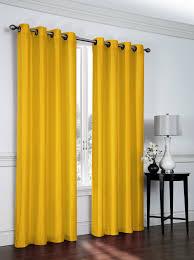 108 Drapery Panels Amazon Com 2 Piece Faux Silk Grommet Curtain Panels 54