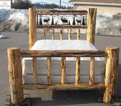 Cheap Log Bed Frames Log Beds Log Bunk Beds Cedar Log Beds Rustic Log Beds