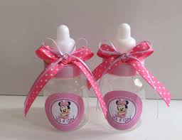 minnie mouse baby shower favors in pink and by marshmallowfavors