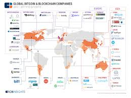 Global Map Of The World by Distributed Ledgers Bitcoin U0026 Blockchain Goes Global