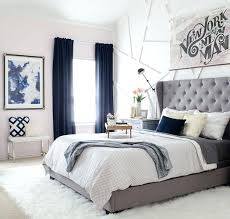 Bedroom With Grey Curtains Decor Blue Bedroom Curtains Morningculture Co