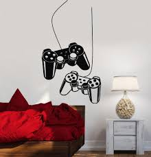 joystick wall decal gamer video game play room kids vinyl stickers joystick wall decal gamer video game play room kids vinyl stickers art ig2532