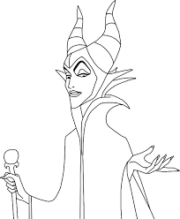 maleficent coloring pages free print coloringstar