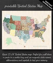 printable united states map 11