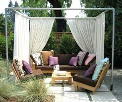 Outdoor Cabana Curtains 25 Best Ideas Of Outdoor Gazebo With Curtains