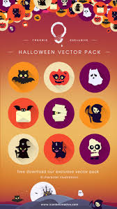 halloween vector free download pack icanbecreative