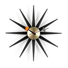Horloge Cuisine Rouge by Sunburst Clock Nelson Horloge Murale Vitra Ambientedirect Com