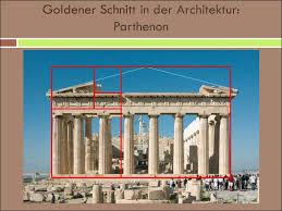 der goldene schnitt architektur moderne architektur traditionelle oder untraditionelle formen