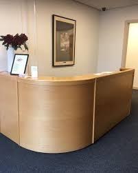 Gumtree Reception Desk Beech Wooden Reception Desk In Elland West Yorkshire Gumtree