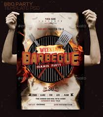 20 bbq flyer templates psd vector eps jpg download