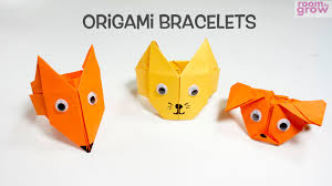 origami bracelets fun origami craft ideas for kids youtube