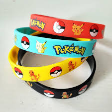 hand rubber bracelet images New fashion pokemon go plus silicone funny bracelet bangle rubber jpg