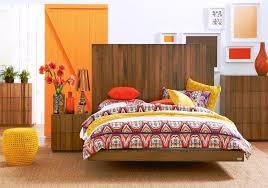 Bed Frames Domayne Awaken Your Decor With An Orange Infusion Domayne Style Insider
