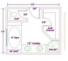 Bathroom And Closet Floor Plans  Bathroom Design X Size - Bathroom design floor plans