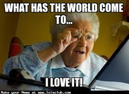 Granny Meme - lol s club laugh out loud s club grandma finds the meme