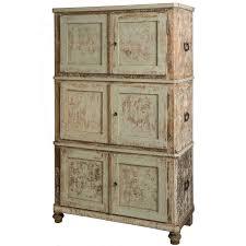 sold a swedish three piece cupboard in original green paint circa