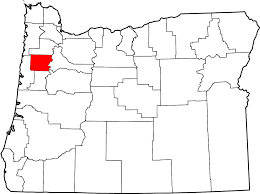 map of oregon with counties file map of oregon highlighting polk county svg wikimedia commons