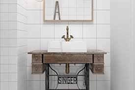 Bathroom Sink For Small Space - small space solutions tiny bathroom sinks apartment therapy