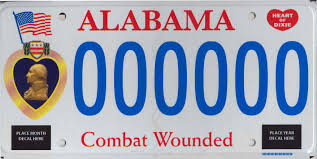 Make Your Own Vanity Plate Military License Plates U2013 Alabama Department Of Revenue