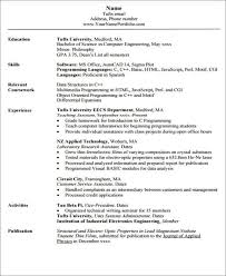 Structural Engineer Resume Sample by 23 Engineering Resume Templates In Pdf Free U0026 Premium Templates