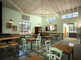 interior design of traditional cafe restaurant mgxm αρχιτέκτονες